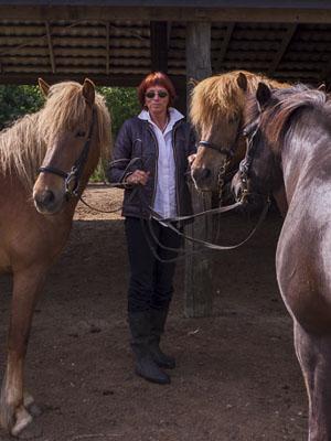 Klinisk Psykolog Cand. Psych. Gerd  Weber underviser på rideterapi uddannelsen