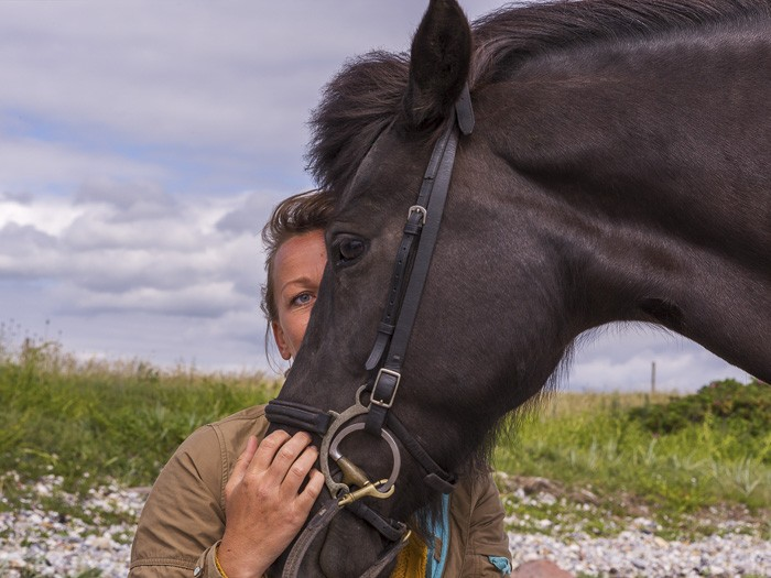 Hesten kan hente resourcer og kvaliteter frem, der syntes forsvundne. Skolen for rideterapi.